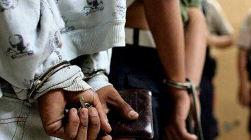 60 meses de prisión a 5 integrantes de Los Raspi